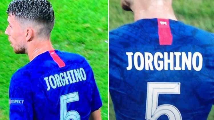 Kesalahan Chelsea Dalam Menulis Nama Jorginho Jadi Perbincangan Panas Warganet