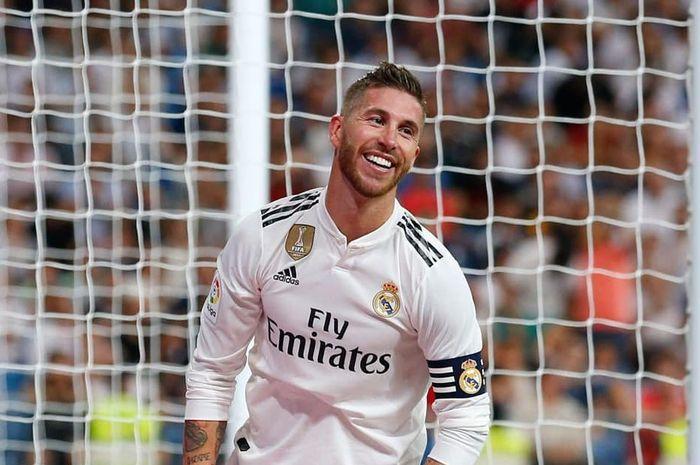 Selebrasi Sergio Ramos