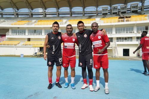 Shopee Liga 1: Persipura Menang Melawan Persija
