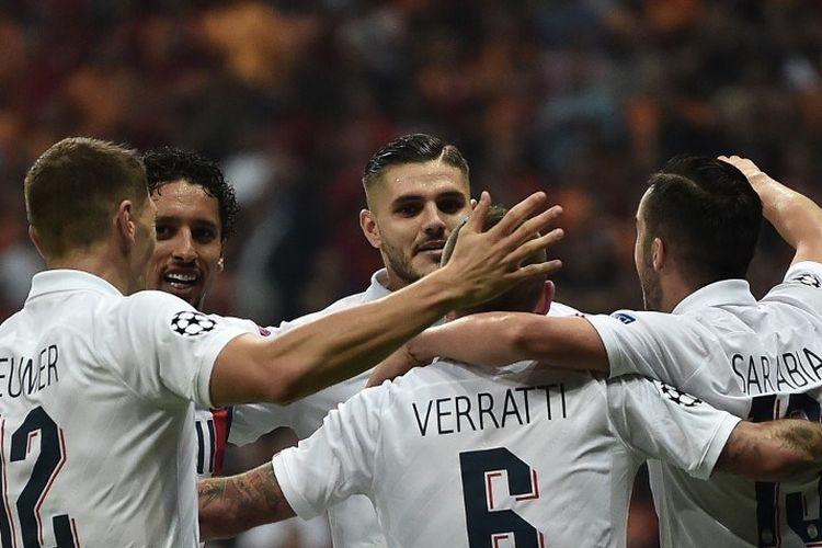 Hasil Pertandingan Liga Champions: PSG Menang Tipis Atas Galatasaray