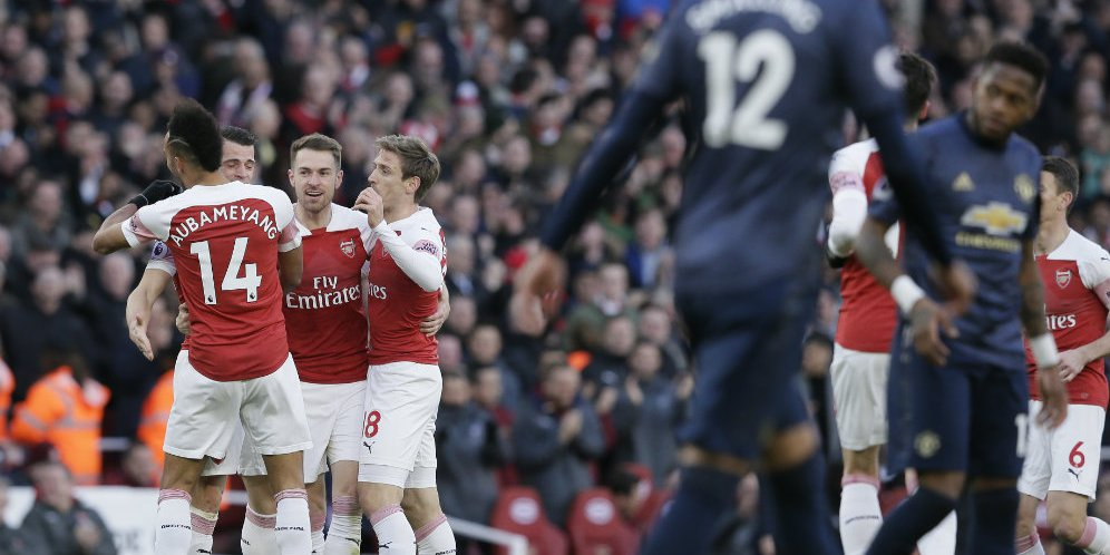 Pertandingan Manchester United Melawan Arsenal